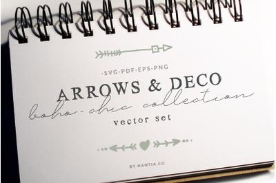 Boho-Chic Arrows & Deco Vectors