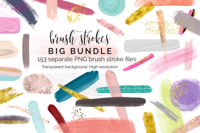 Huge Bundle of brush strokes