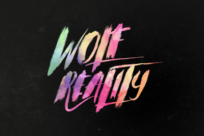 Wolf Reality Typeface