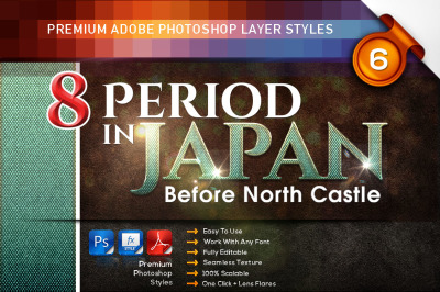 8 Period in JAPAN Vol. 6