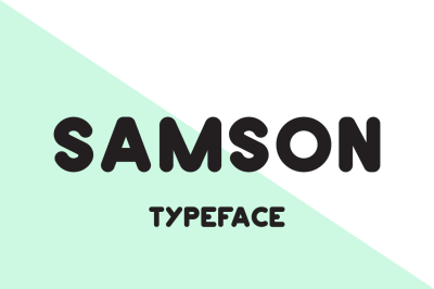 Samson Typeface