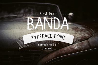 Banda Typeface Font