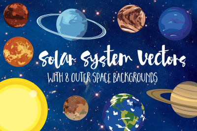 Outer Space Vector Set