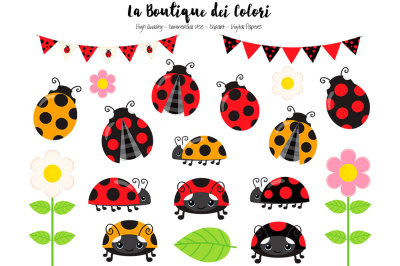 Cute Ladybug Clipart and Vectors