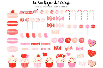 Red Valentine Clipart and Vectors