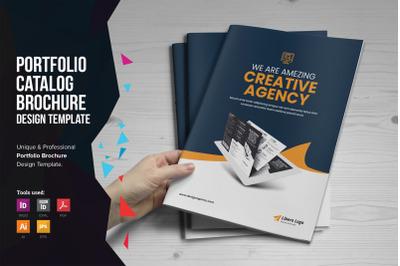 Portfolio Bifold Brochure Design v1