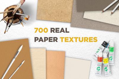 700 Real Paper Textures Great Bundle