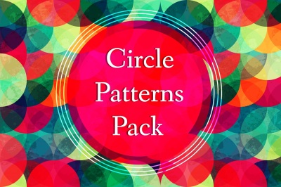 Circle Vector Patterns Pack