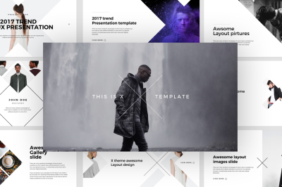 X Powerpoint Template