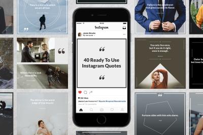 40 Instagram Quotes