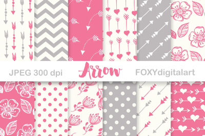 Arrow Digital Paper Scrapbook