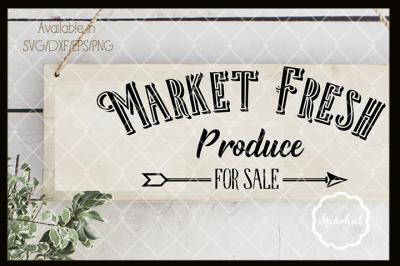 Market Fresh Farmhouse Cutting File