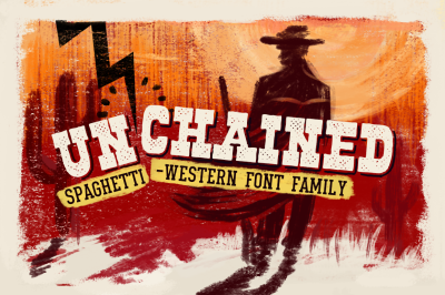Unchained • Font Family