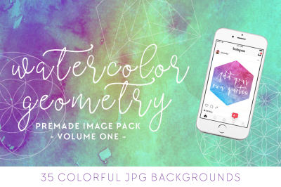 Watercolor Geometry Volume One