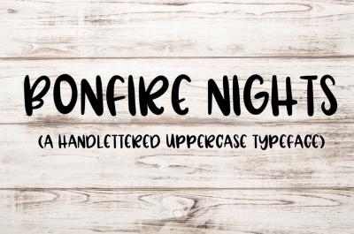 Bonfire Nights -  A Handwritten Font