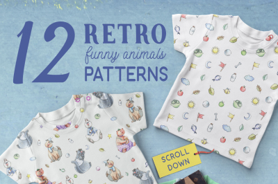 Funny Patterns for Kids and Babies