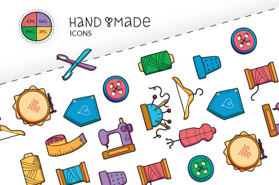 Handmade and hobby patches and icons