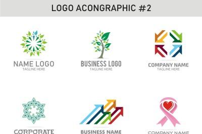 6 Logo Template 2