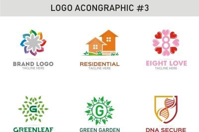 6 Logo Template 3