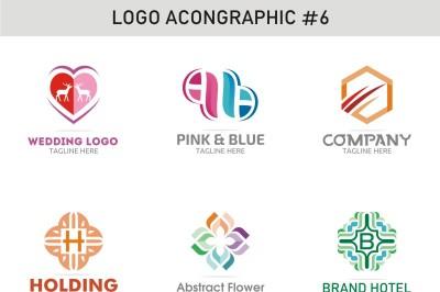 6 Logo Template 6