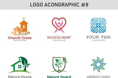 6 Logo Template 8