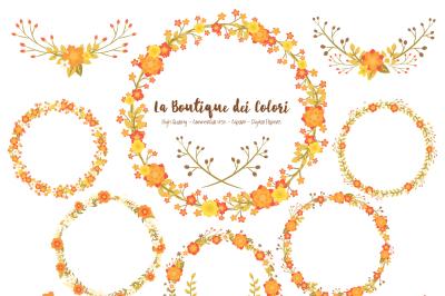 Fall Wreath Clipart