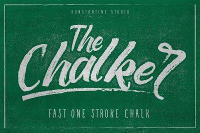 The Chalker Chalk lettering font