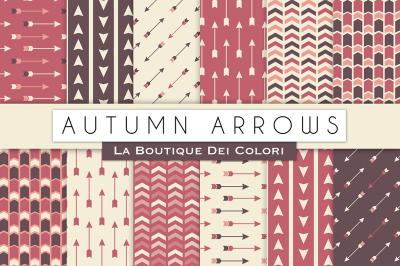 Autumn Arrow Digital Papers
