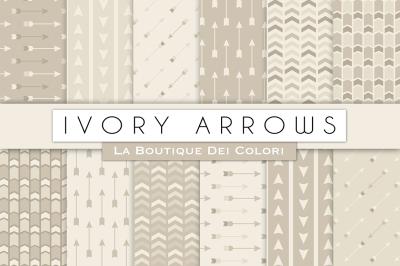 Ivory Arrow Digital Papers