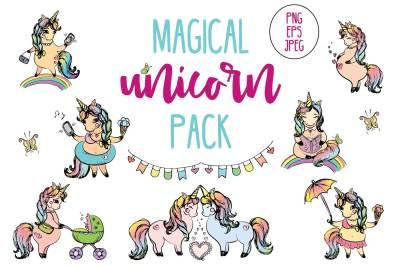 Magical Unicorns Pack