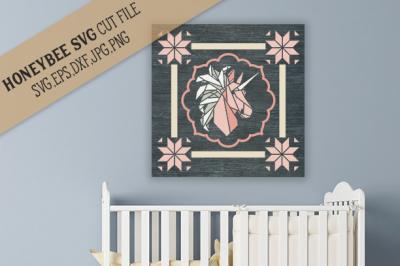 Unicorn Dreams Nursery Barn Quilt cut file