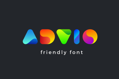 Advio friendly font