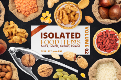 Isolated Food Items Vol.2