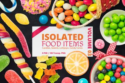 Isolated Food Items Vol.3