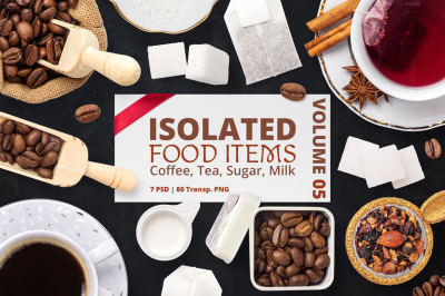 Isolated Food Items Vol.5