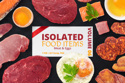 Isolated Food Items Vol.6