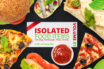 Isolated Food Items Vol.7