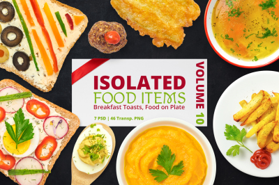 Isolated Food Items Vol.10