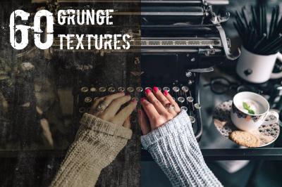 60 Grunge Texture Overlays
