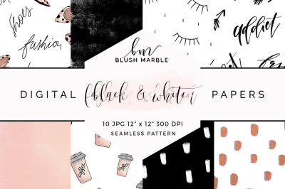 Digital paper - fashion selection