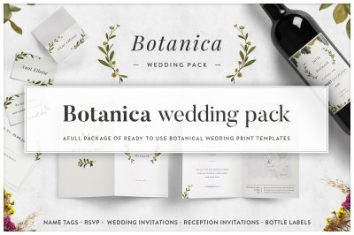 Botanica - Wedding Pack -40% SALE