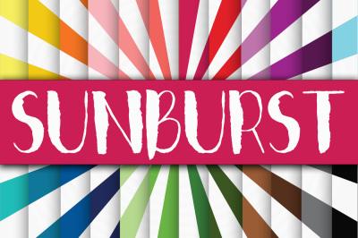Sunbursts Digital Paper