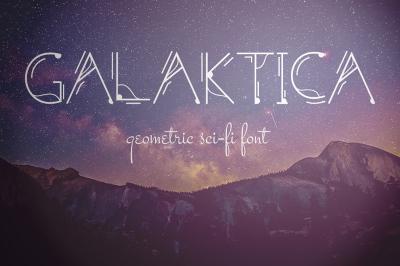 Galaktica Font