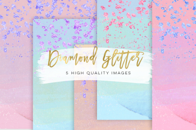glam sticker paper, Planner Girl Clip Art paper
