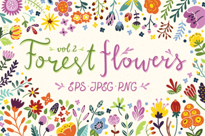 Forest Flowers vol. 2