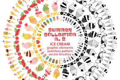 SUMMER COLLECTION Vol.2 - Vector Ice Cream