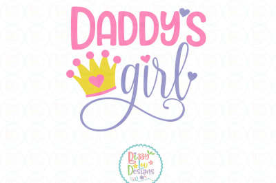 Daddy's Girl SVG DXF EPS PNG - Cutting File