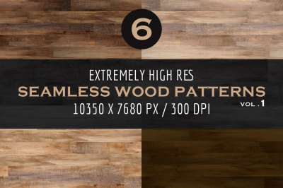 Extremely HR Seamless Wood Patterns Vol. 1