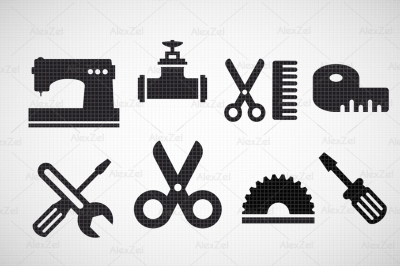 Sewing logo craft PNG JPG