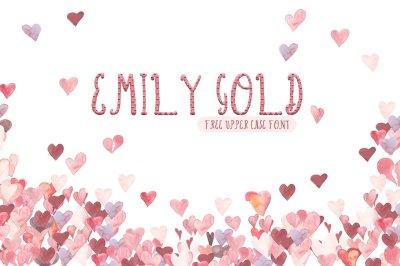 Emily Gold Script Font
